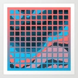 TOPOGRAPHY 2017-006 Art Print