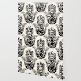 Hamsa Hand Frenchie Wallpaper