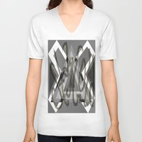 stay gold V-neck T-shirts featuring Stay Gold by Anna Hanse