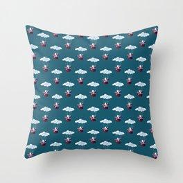 Traveler Cat Pattern Throw Pillow