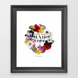 Alice In Wonderland: MAD Framed Art Print