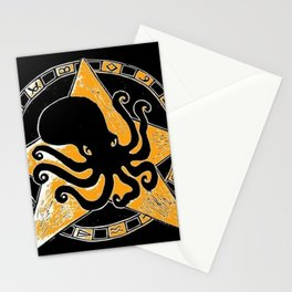 Cephalopod God Stationery Cards
