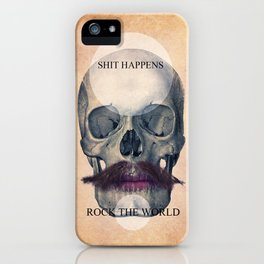 Rock the World / (Skull Collection) iPhone Case