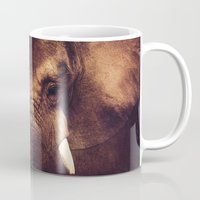 strong Mugs featuring Strong by DONIKA NIKOVA - Art & Design