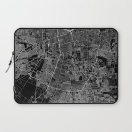 Santiago Black Map Laptop Sleeve