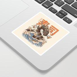Great Sushi Dragon Sticker