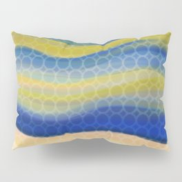 Waves of Sun Pillow Sham