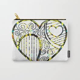 Shifting inside the Heart Carry-All Pouch