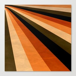 Autumn Stripes Canvas Print