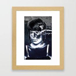 Blackeye Framed Art Print