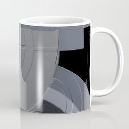 Invention 3 In Shades Of Blue and Steel Coffee Mug
