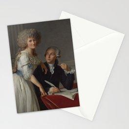 Antoine-laurent De Lavoisier And Marie-anne Paulze Lavoisier Stationery Cards