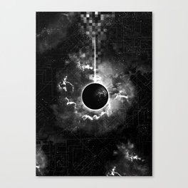 Space & Time Canvas Print
