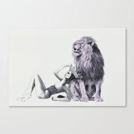 The Queen (Leo) Canvas Print