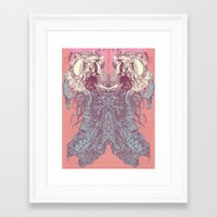 insect Framed Art Prints featuring insect by Maethawee Chiraphong