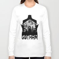 gotham Long Sleeve T-shirts featuring Gotham by Vitalitee