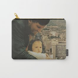 A Father, Daughter Moment Carry-All Pouch