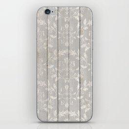 Rustic Ornamental Wood iPhone Skin