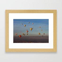Hot Air Balloons - Cappadocia  Framed Art Print