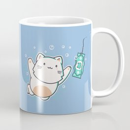 Nevermind Cat Coffee Mug