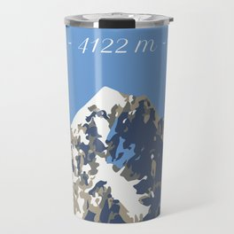 L'Aiguille Verte - France Travel Mug
