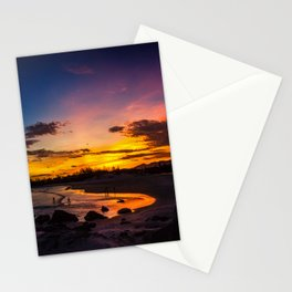 Glitter in Dusk Stationery Cards