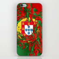 portugal iPhone & iPod Skins featuring Portugal by Danny Ivan