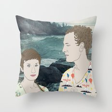 Pure Bathing Culture Throw Pillow