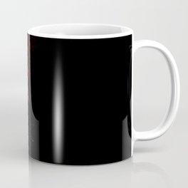 blacknwhitenredallover Coffee Mug