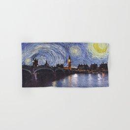 starry night over london Hand & Bath Towel