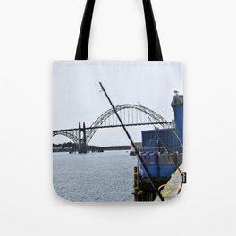 Bridge View  Tote Bag