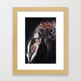 Should i ? Framed Art Print
