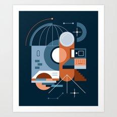 Astronomy Art Print