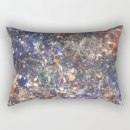 Space and Sound Rectangular Pillow