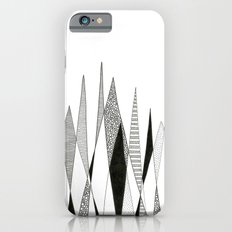 Spikes and Pines (pen on paper) iPhone 6 Slim Case