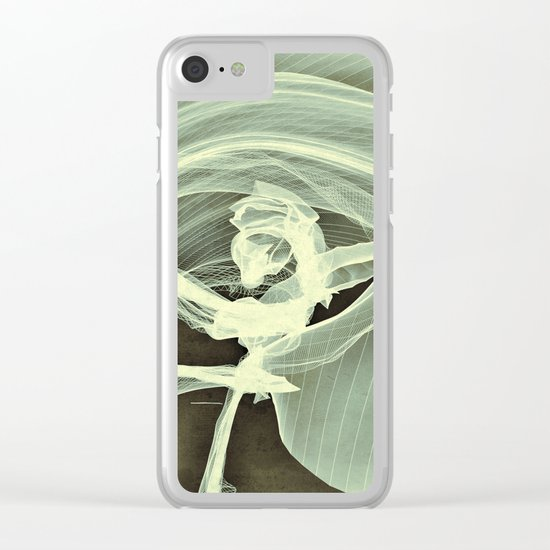 A Smooth Awakening Clear iPhone Case
