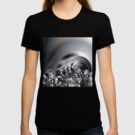 Complexity under smooth simplicity - Abstract play with focus T-shirt
