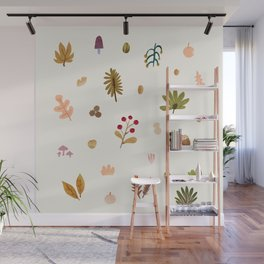 Abstraction_Woodland_Exploration_01 Wall Mural
