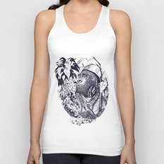 jungle kong Unisex Tank Top