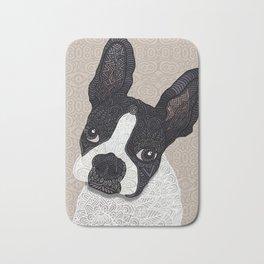 Boston Terrier 2015 Bath Mat