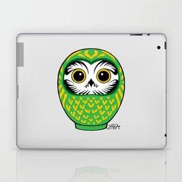 Green Fukuro Daruma Laptop & iPad Skin