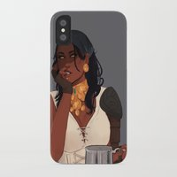 dragon age iPhone & iPod Cases featuring Isabela - Dragon Age 2 by maltairs