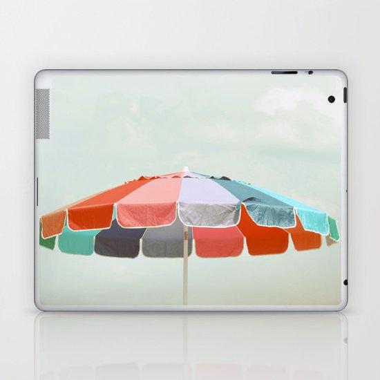 beach umbrella Laptop & iPad Skin