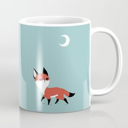 Moon Fox Coffee Mug