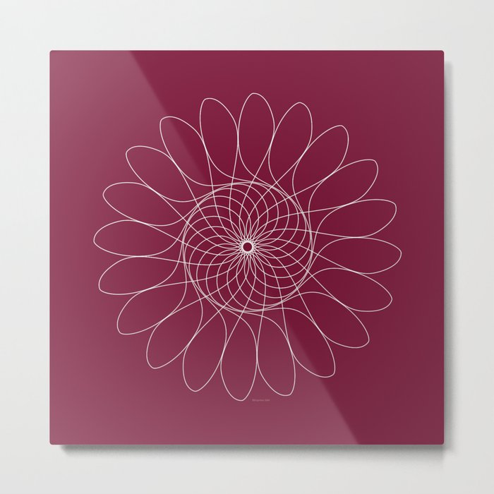 Ornament – FlowerChild Metal Print