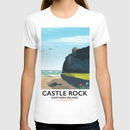 castle rock northern ireland T-shirt