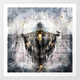 Geclipian - invocation Art Print