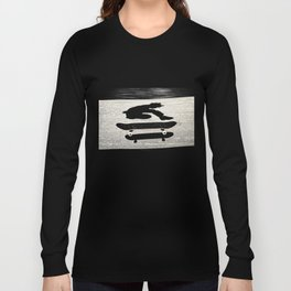 snadwiched skateboard Long Sleeve T-shirt