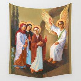 Easter - Myrrh Bearing Women Wall Tapestry