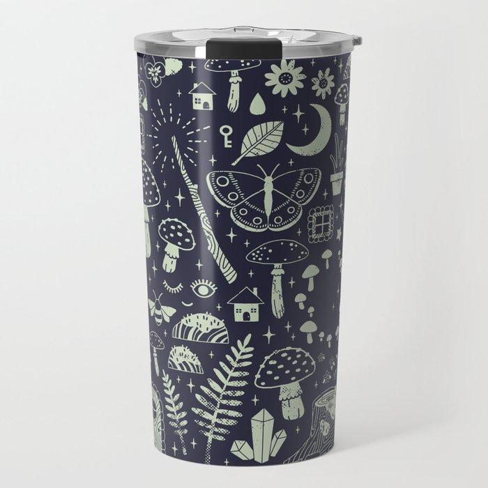 Fairy Garden: Midnight Travel Mug